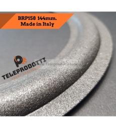"""BRP158 Sospensione di ricambio per woofer midrange in foam bordo 144 mm. 14.4 cm. 6"""""""