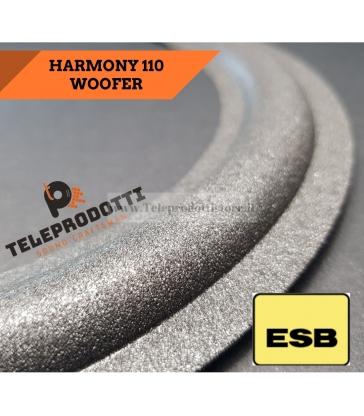 ESB HARMONY 110 SOSPENSIONE RICAMBIO WOOFER 250 mm. FOAM BORDO ALTOPARLANTE