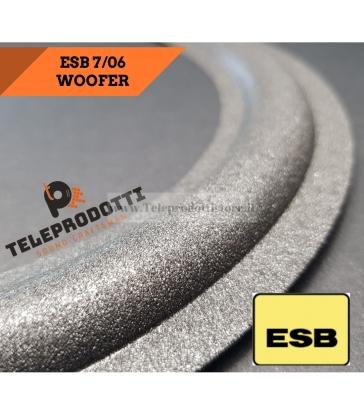 ESB 7-06 Sospensione ricambio woofer 300mm Foam bordo 7 06 7/06 706