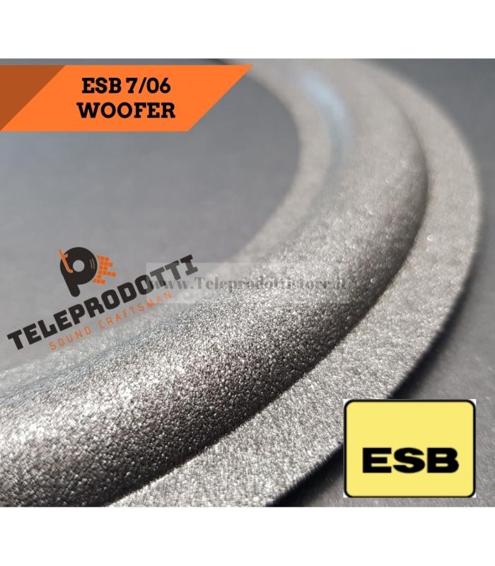 ESB 7-06 Sospensione di ricambio per woofer in foam bordo 300 mm. 7 06 7/06 706
