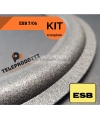 KIT di riparazione foam ESB 7-06 sospensioni altoparlanti woofer midrange e colla 7 06 7/06 706