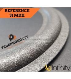 Infinity Reference 31 MKII Sospensione bordo foam di ricambio woofer altoparlante MK2