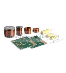KFV 05 Filtro in kit 2 vie 2,5khz 8Ohm per progetto Ciare V05 (Singolo Diffusore)