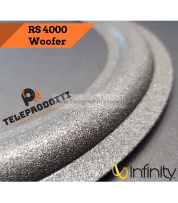 Infinity RS4000 Sospensione bordo foam woofer altoparlante RS 4000 RS-4000