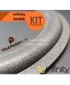 KIT di riparazione foam Infinity RS4000 sospensioni altoparlanti woofer midrange e colla RS 4000