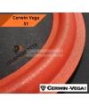 """Cerwin Vega S1 Sospensione di ricambio woofer 12"""" foam rosso per diffusore S1"""