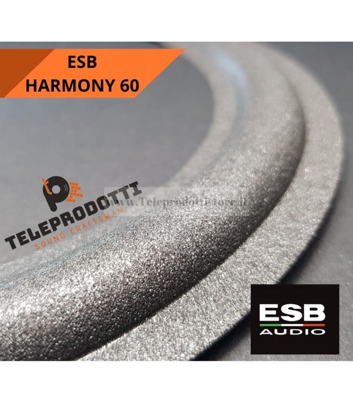 ESB HARMONY 60 SOSPENSIONE RICAMBIO WOOFER 200 mm. FOAM BORDO ALTOPARLANTE