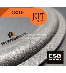 KIT di riparazione foam ESB CDX SB4 sospensioni altoparlanti woofer midrange colla