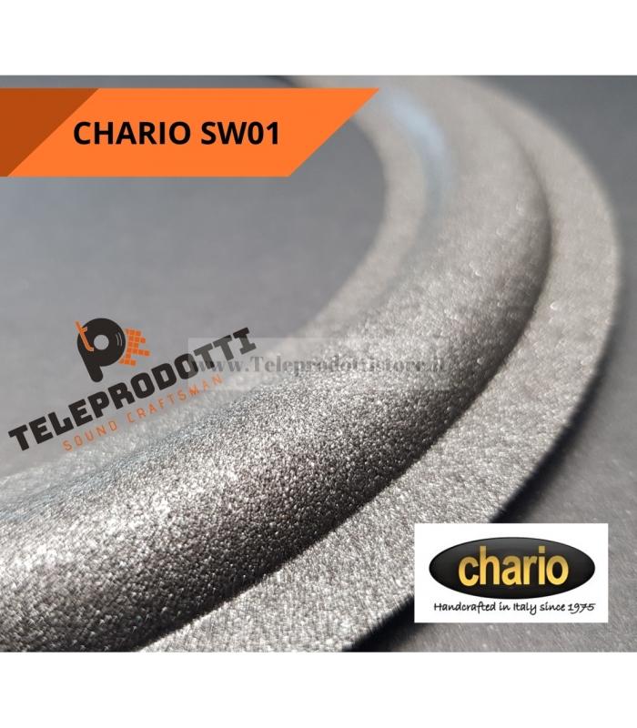 """CHARIO SW01 Sospensione di ricambio per sub woofer in foam bordo SW 01 20 cm. 8"""""""