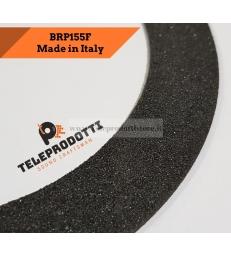 BRP155F Sospensione di ricambio per woofer midrange piatto flat in foam bordo 155 mm. 15.5 cm.