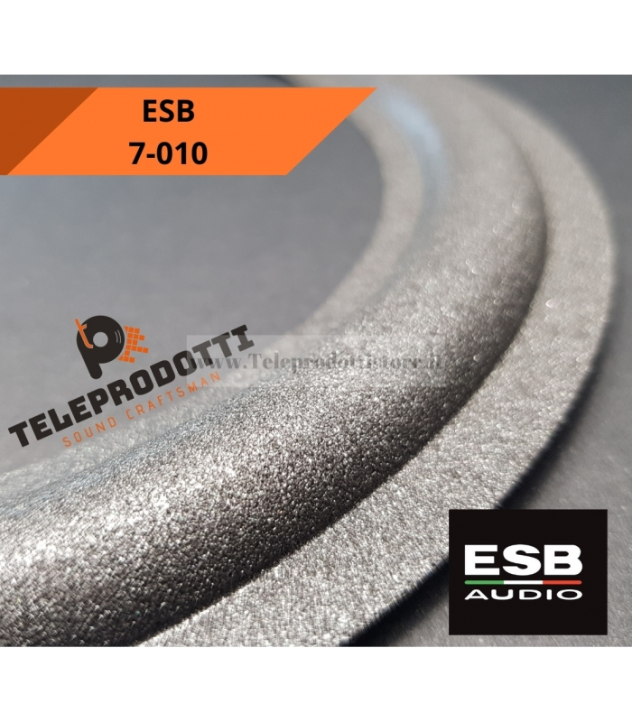 ESB 7-010 SOSPENSIONE RICAMBIO WOOFER 200mm FOAM BORDO 7 010 7/010 7010 0 10