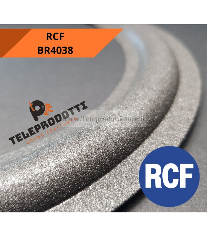 RCF BR4038 Sospensione bordo di ricambio in foam specifico per BR 4038