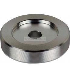 Adattatore 45 giri in alluminio per giradischi piatti vinile disco dischi