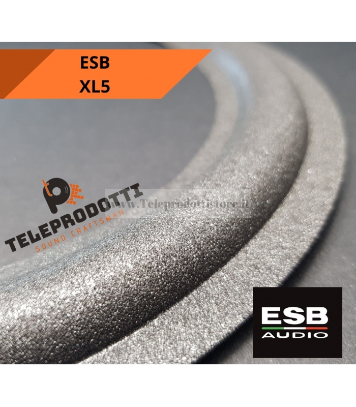 ESB XL5 SOSPENSIONE RICAMBIO WOOFER 250 mm. FOAM BORDO XL-5 XL 5 ALTOPARLANTE