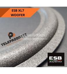 ESB XL7 SOSPENSIONE RICAMBIO WOOFER 250 mm. FOAM BORDO XL-7 XL 7 ALTOPARLANTE