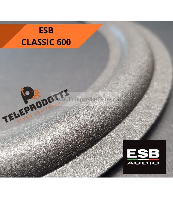 ESB CLASSIC 600 SOSPENSIONE RICAMBIO MIDRANGE 100 mm FOAM BORDO MEDIO 10 cm.