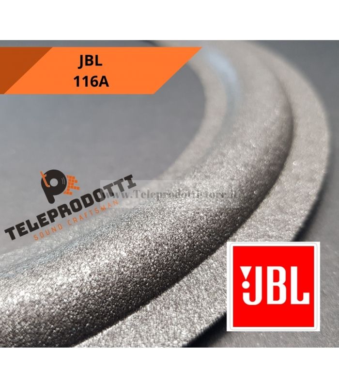 """JBL 116A Sospensione bordo di ricambio woofer in foam altoparlante 20 cm. 8"""" 116 A"""