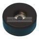 4907 Piedino in gomma con anima in acciaio 38 x 15 mm. per diffusori acustici