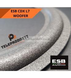 ESB CDX L7 Sospensione di ricambio per woofer attivo 25 cm. in foam bordo cdx-l7 l 7