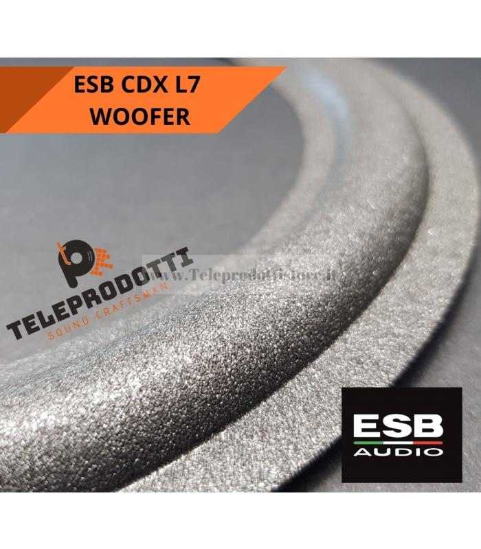 ESB CDX L7 Sospensione di ricambio per woofer attivo 250 mm. in foam bordo cdx-l7 l 7