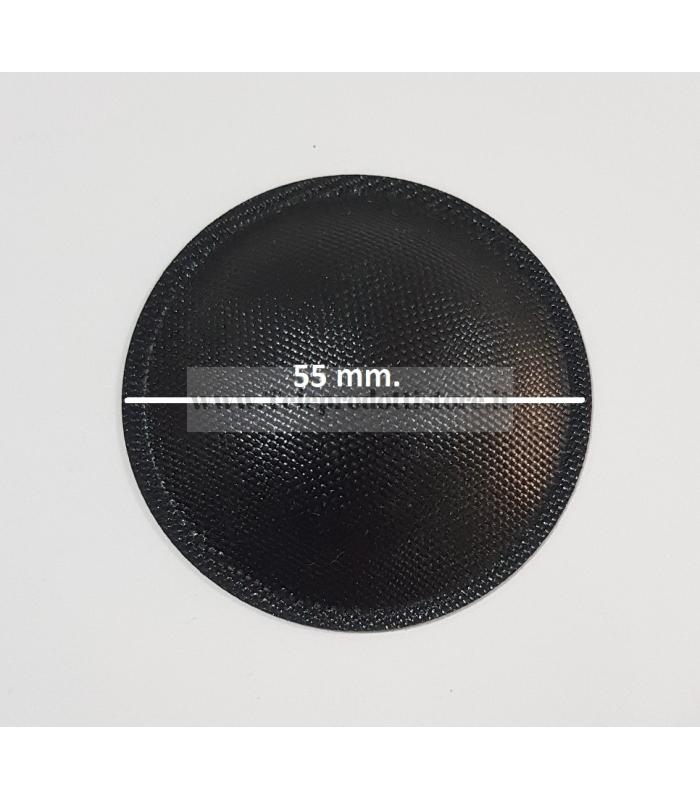 CUP55FVH Cupola parapolvere 55 mm. fibra di vetro copripolvere per woofer altoparlante