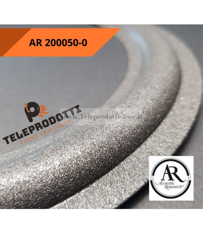 AR 200050-0 Sospensione bordo di ricambio in foam woofer 200 mm. AR200050-0 Acoustic Reserch