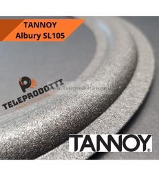 """TANNOY ALBURY SL105 Sospensione in foam specifica bordo di ricambio woofer 15"""" SL 105"""