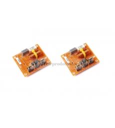 HF200 Coppia filtri crossover 2 vie CIARE 5000Hz 12/6dB 90 Watt 8 OHM HF-200 HIFI
