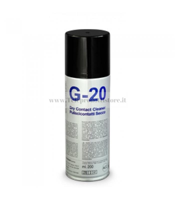 G-20 Spray pulisci contatti secco per potenziometri slider puliscicontatti