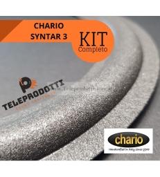 CHARIO SYNTAR 3 KIT Sospensioni di riparazione per woofer midrange in foam bordo e colla