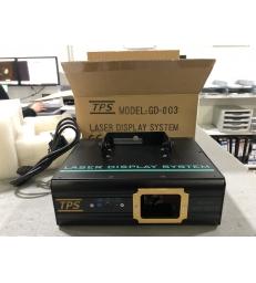 GD-003 Effetto luce laser tre colori: rosso, giallo, verde 140 mw (100+40) mw per spettacolo eventi DJ disco pub bar