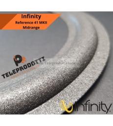 INFINITY REFERENCE 41 MKII Sospensione di ricambio per midrange in foam bordo MK2