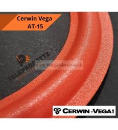 """CERWIN VEGA AT-15 Sospensione di ricambio per woofer in foam rosso bordo AT15 AT 15 15"""""""