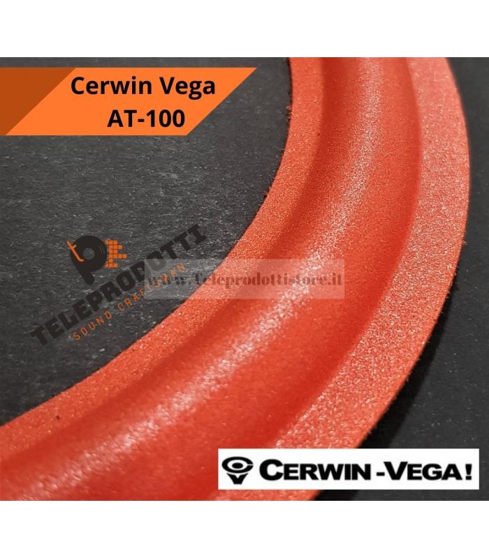 """CERWIN VEGA AT-100 Sospensione di ricambio per woofer in foam rosso bordo AT100 AT 100 15"""""""