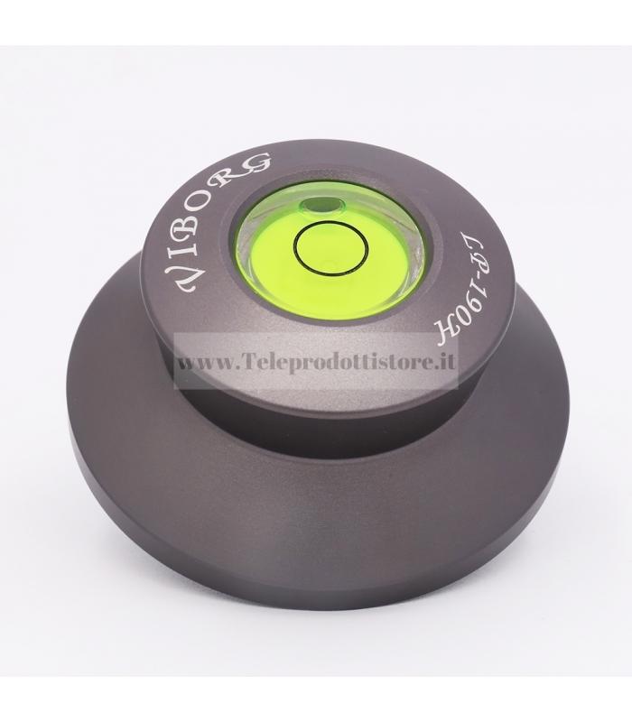 Viborg LP190H Clamp peso stabilizzatore disco giradischi hifi alluminio 33 45 giri