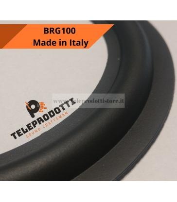 BRG100 Sospensione di ricambio per woofer midrange in gomma bordo 97 mm. 10 cm.