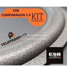 ESB Comparagon 2 II Sospensioni di riparazione per woofer midrange in foam bordo e colla