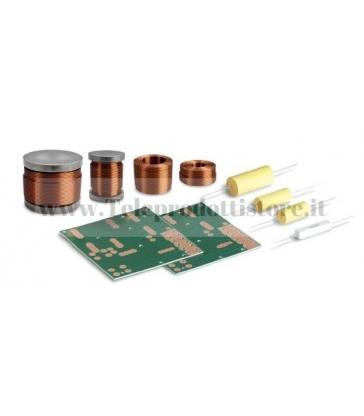 KFPR020 Ciare filtro crossover in kit 2 vie 3,5khz per progetto PR020 (Singolo Diffusore) KF-PR020