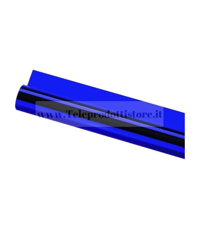 LCF-119/BL Foglio pellicola gelatina blu per fari PAR56 PAR64 filtro colore